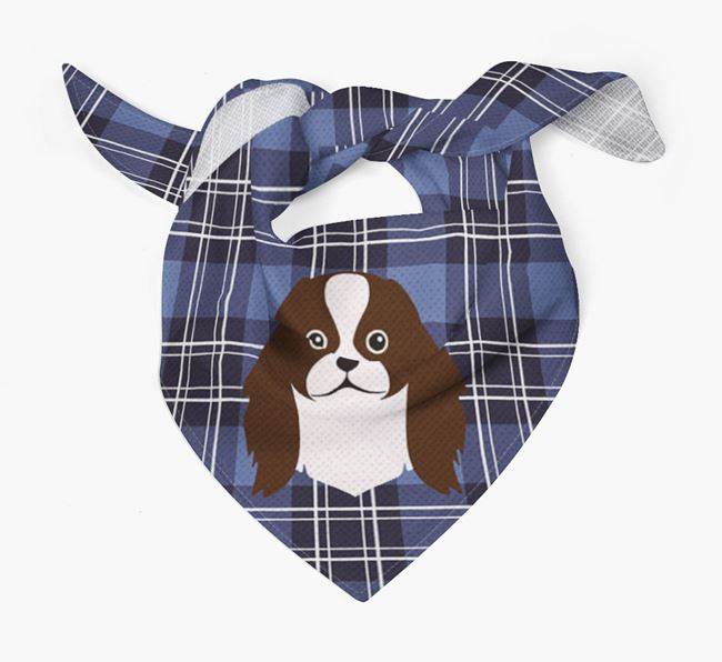 'St Andrew's Day' - Personalised Japanese Chin Bandana