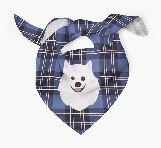 'St Andrew's Day' - Personalised Japanese Spitz Bandana