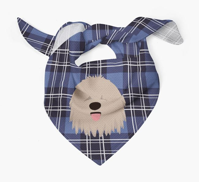 'St Andrew's Day' - Personalised Komondor Bandana