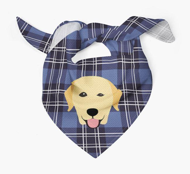 'St Andrew's Day' - Personalised Labrador Retriever Bandana