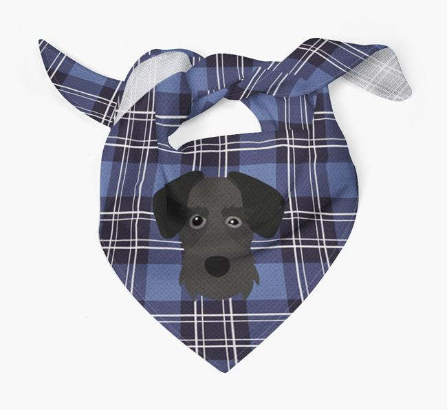 'St Andrew's Day' - Personalised Miniature Schnoxie Bandana