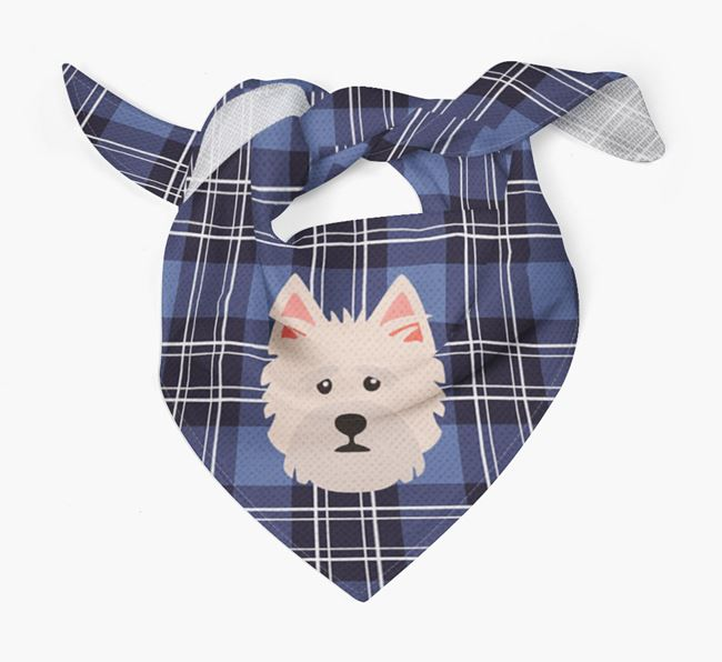 'St Andrew's Day' - Personalised Norfolk Terrier Bandana