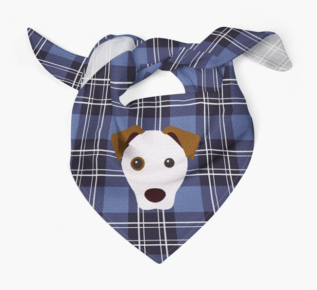 'St Andrew's Day' - Personalised Parson Russell Terrier Bandana