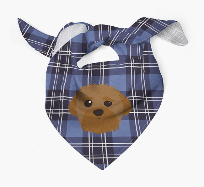 'St Andrew's Day' - Personalised Peek-a-poo Bandana