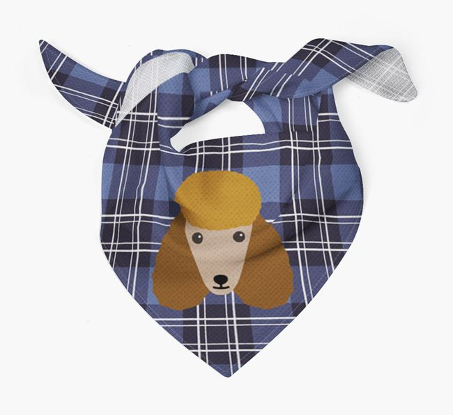 'St Andrew's Day' - Personalised Poodle Bandana