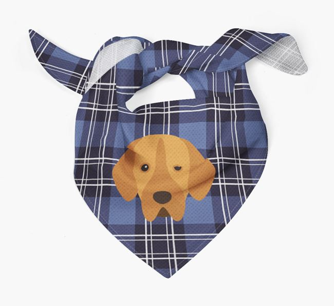 'St Andrew's Day' - Personalised Portuguese Pointer Bandana