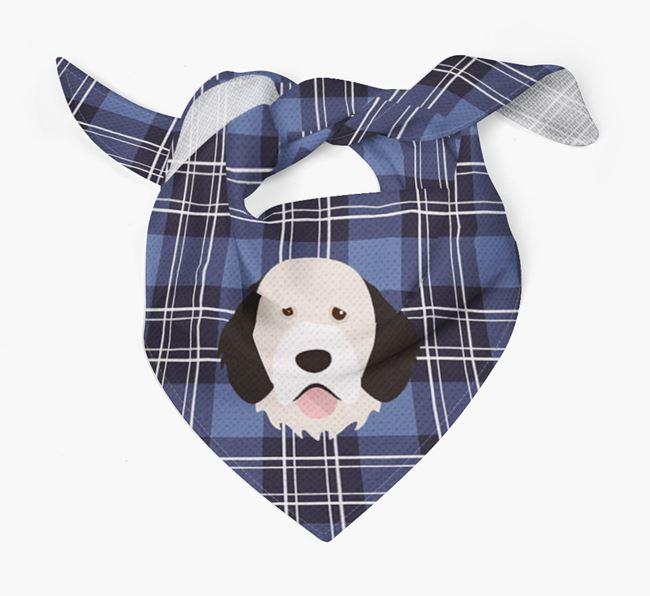 'St Andrew's Day' - Personalised Portuguese Water Dog Bandana