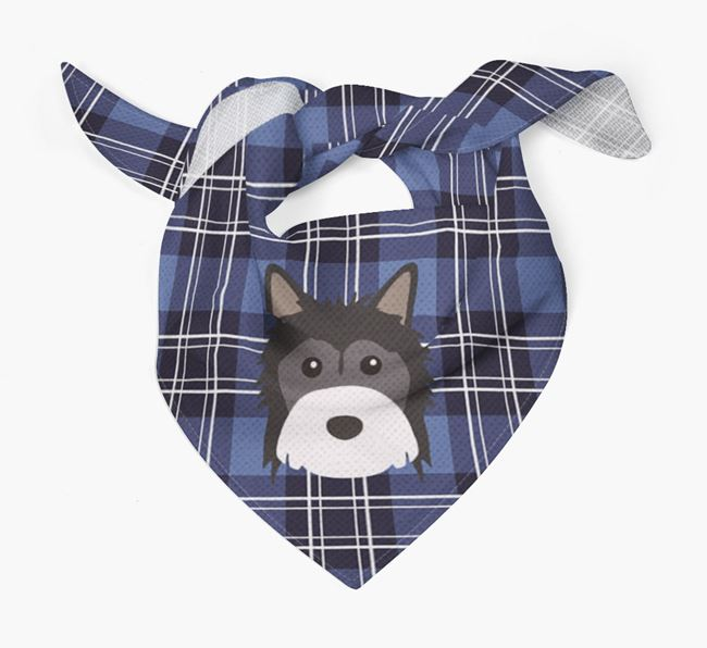 'St Andrew's Day' - Personalised Powderpuff Chinese Crested Bandana