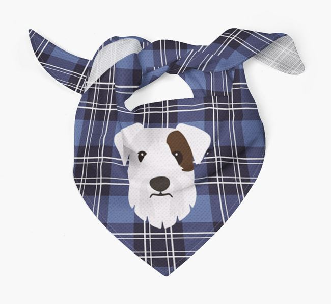 'St Andrew's Day' - Personalised Sealyham Terrier Bandana