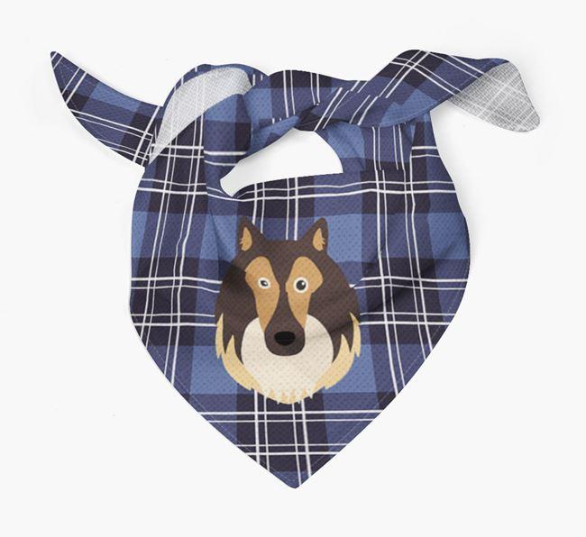'St Andrew's Day' - Personalised Shetland Sheepdog Bandana