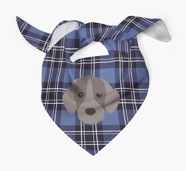 'St Andrew's Day' - Personalised Slovakian Rough Haired Pointer Bandana