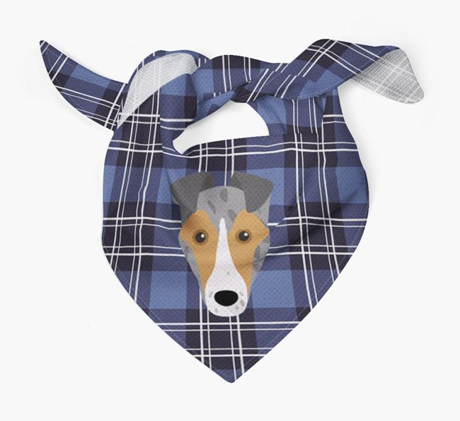'St Andrew's Day' - Personalised Smooth Collie Bandana