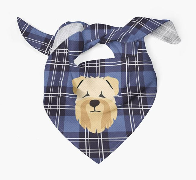 'St Andrew's Day' - Personalised Soft Coated Wheaten Terrier Bandana