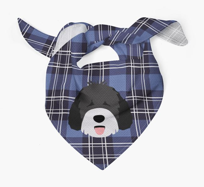'St Andrew's Day' - Personalised Spanish Water Dog Bandana