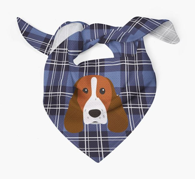 'St Andrew's Day' - Personalised Springer Spaniel Bandana