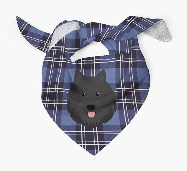 'St Andrew's Day' - Personalised Swedish Lapphund Bandana