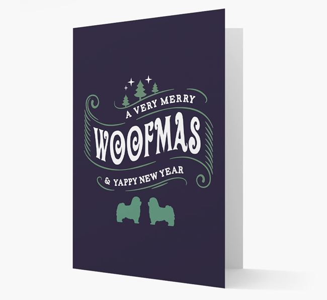 'Merry Woofmas' Christmas Card