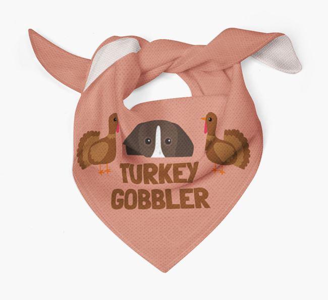'Turkey Gobbler' - Personalized German Shorthaired Pointer Thanksgiving Bandana