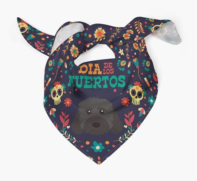 'Dia De Los Muertos' - Personalized Cockapoo Bandana