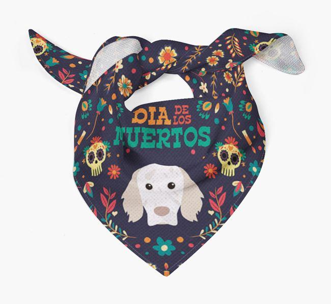 'Dia De Los Muertos' - Personalized English Setter Bandana