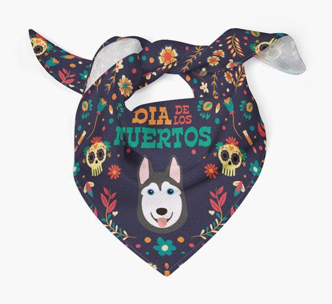 'Dia De Los Muertos' - Personalized Dog Bandana