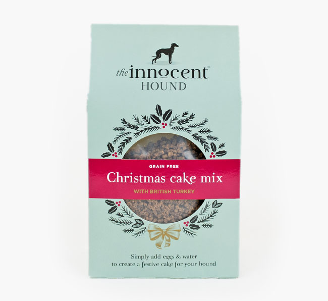 Christmas Cake Mix Dog Treats for your Cavachon
