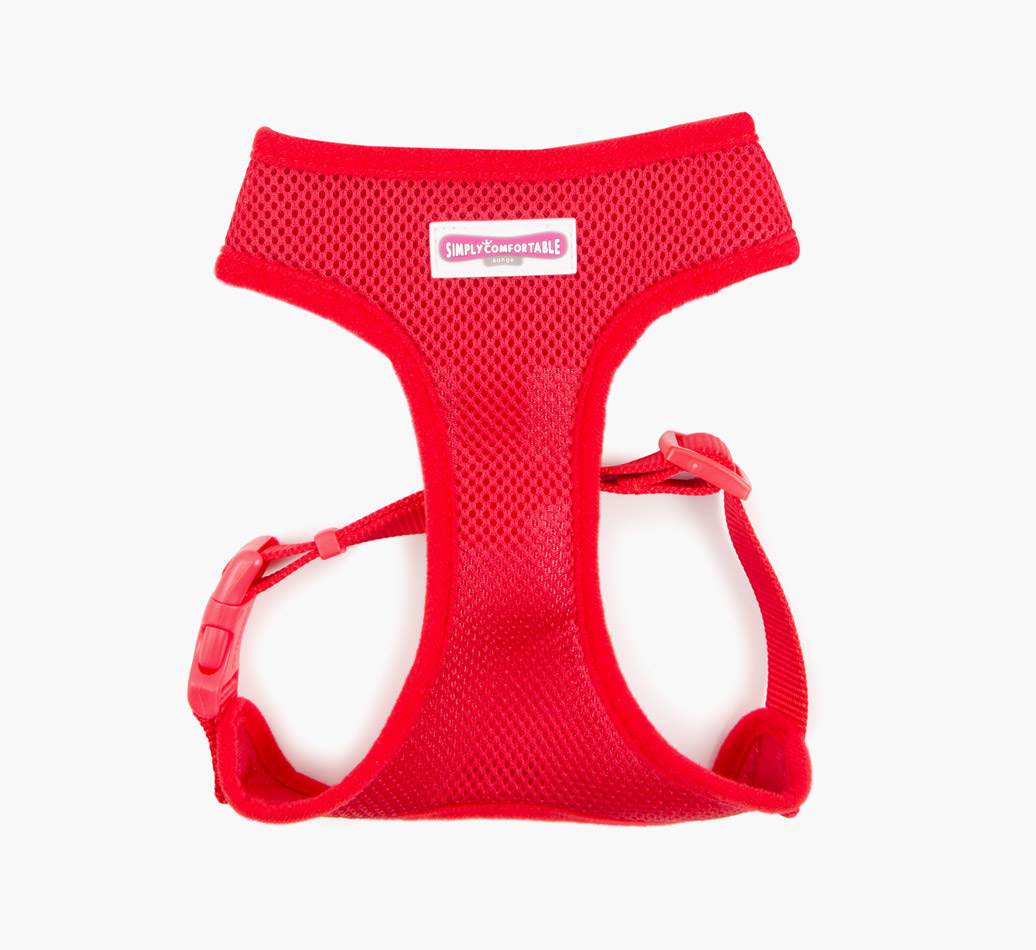 Poodle Ancol Mesh Comfort Harness - Red
