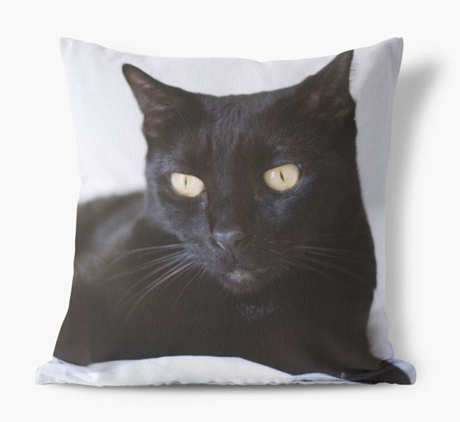 Photo Upload Cushion - Personalised for your Cat
