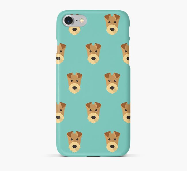 Phone Case with Airedale Icons