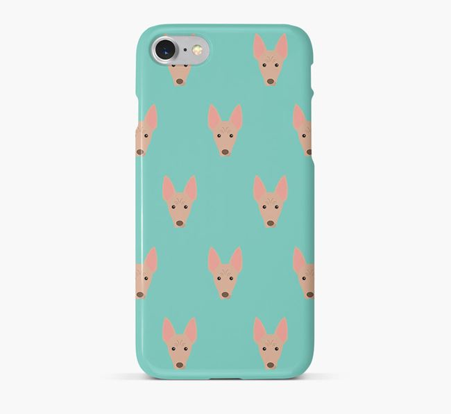 Phone Case with American Hairless Icons