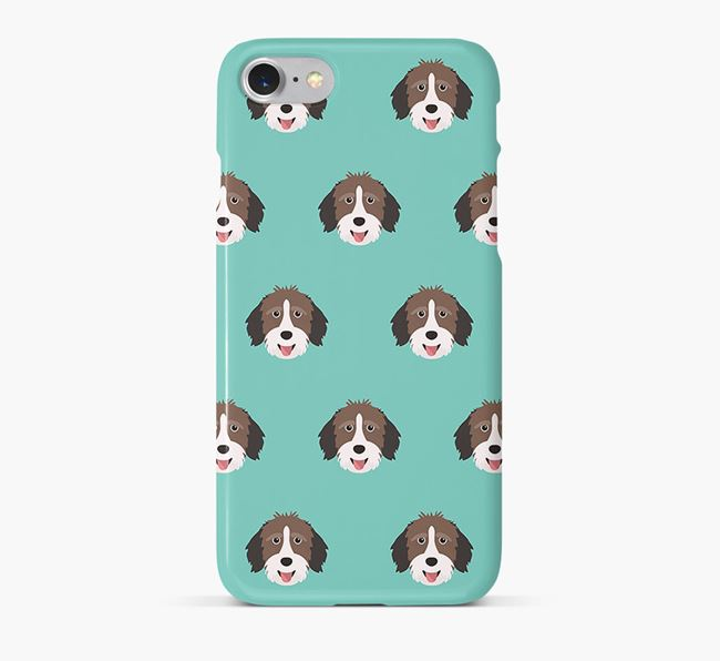 Phone Case with Aussiedoodle Icons