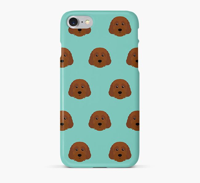 Phone Case with Australian Labradoodle Icons