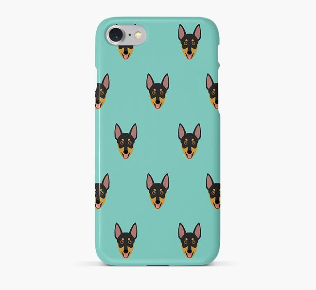 Phone Case with Working Kelpie Icons