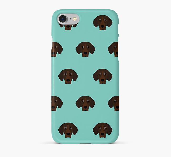 Phone Case with Mountain Hound Icons