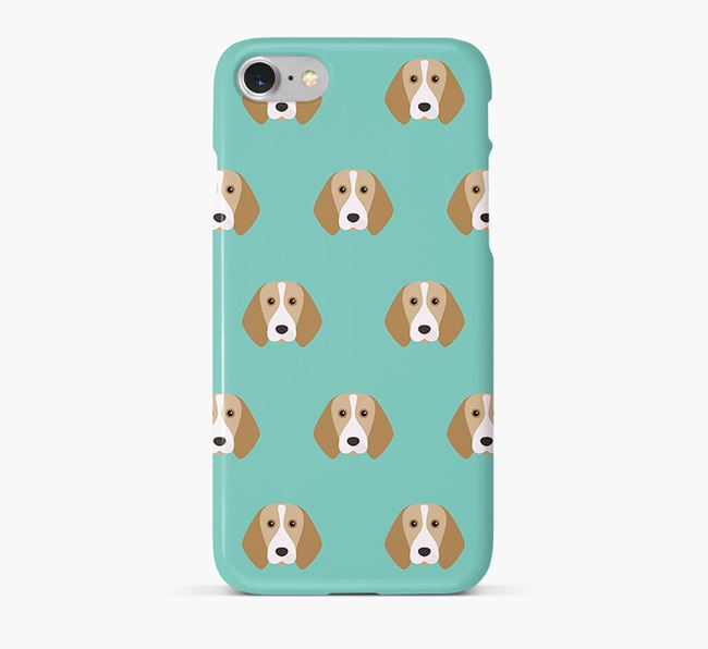 Phone Case with Beagle Icons
