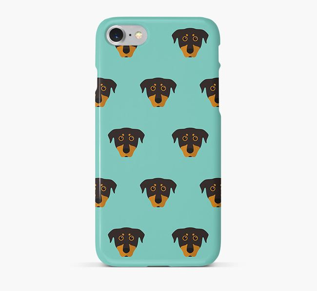 Phone Case with Beauceron Icons