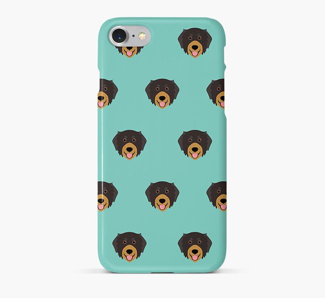 Phone Case with Bernedoodle Icons