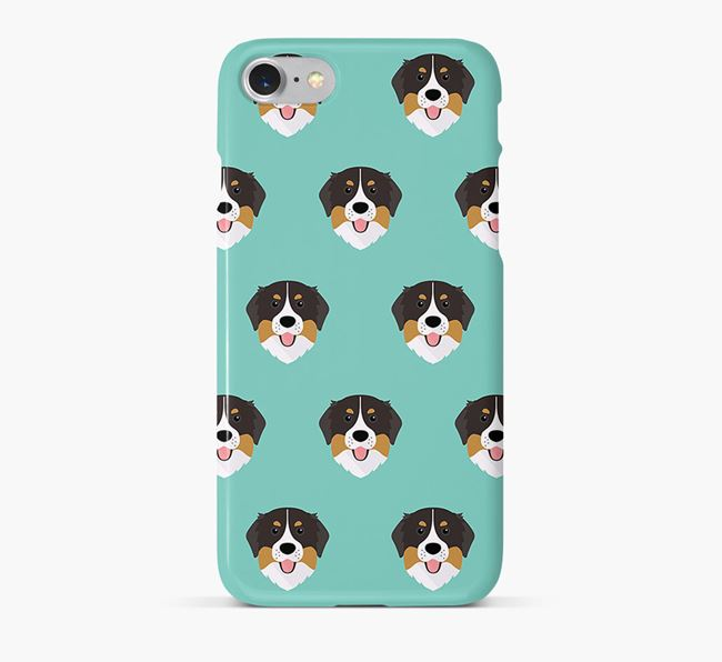 Phone Case with Bernese Icons