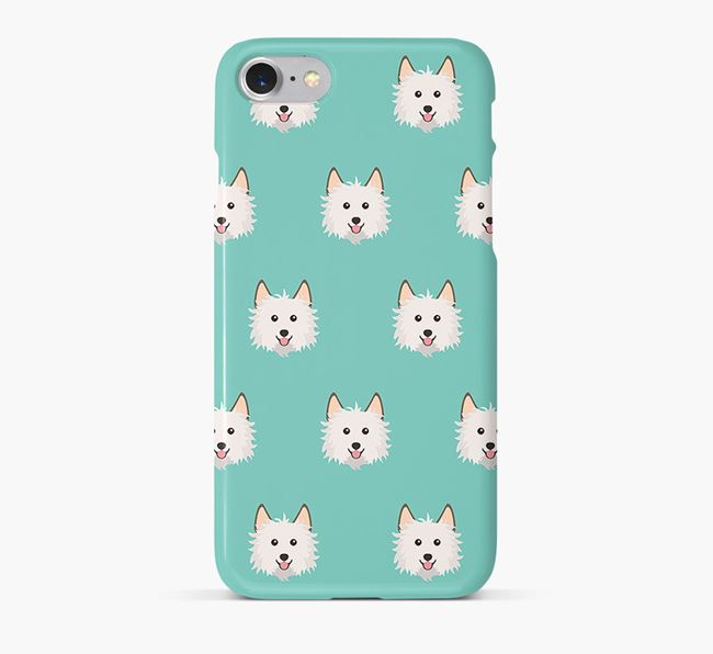 Phone Case with Biewer Terrier Icons