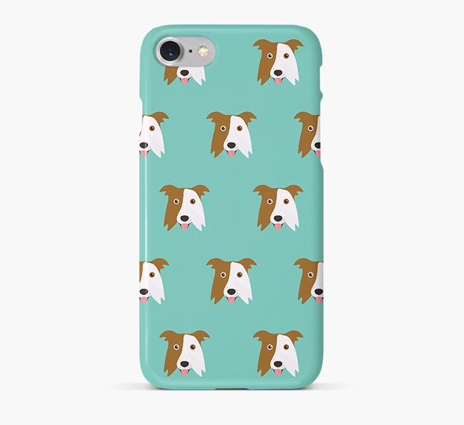 Phone Case with Border Collie Icons