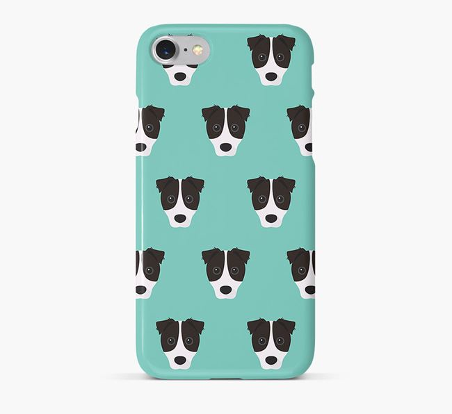 Phone Case with Border Jack Icons
