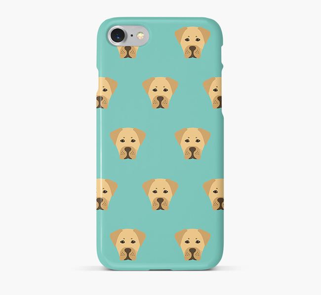 Phone Case with Boxador Icons