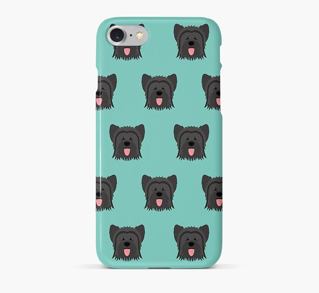 Phone Case with Briard Icons
