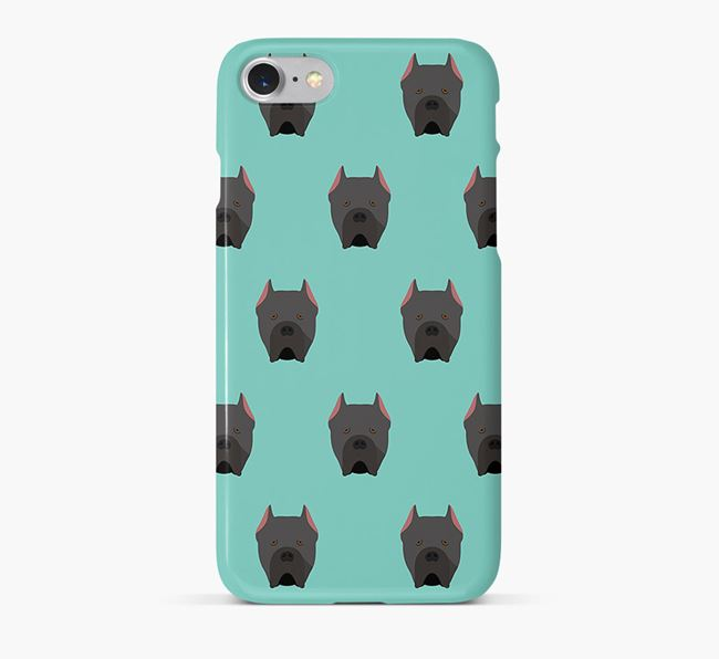 Phone Case with Cane Corso Icons