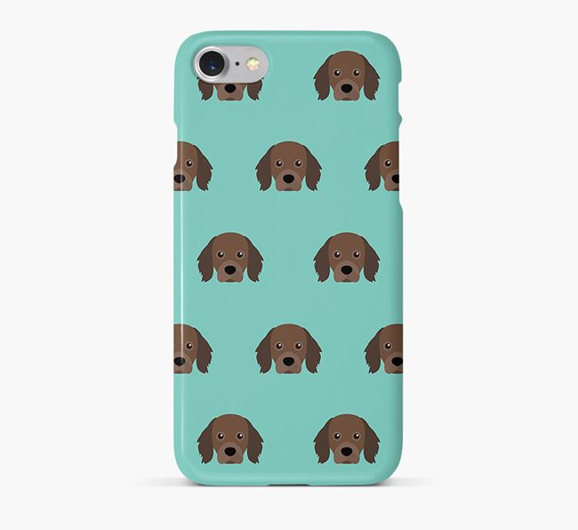 Phone Case with Cavapom Icons