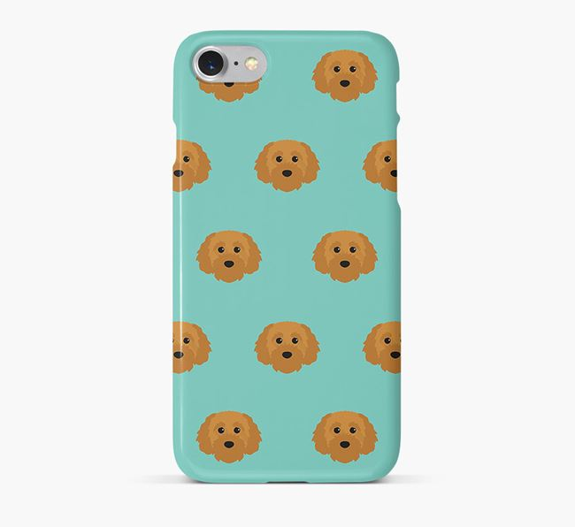 Phone Case with Cavapoochon Icons