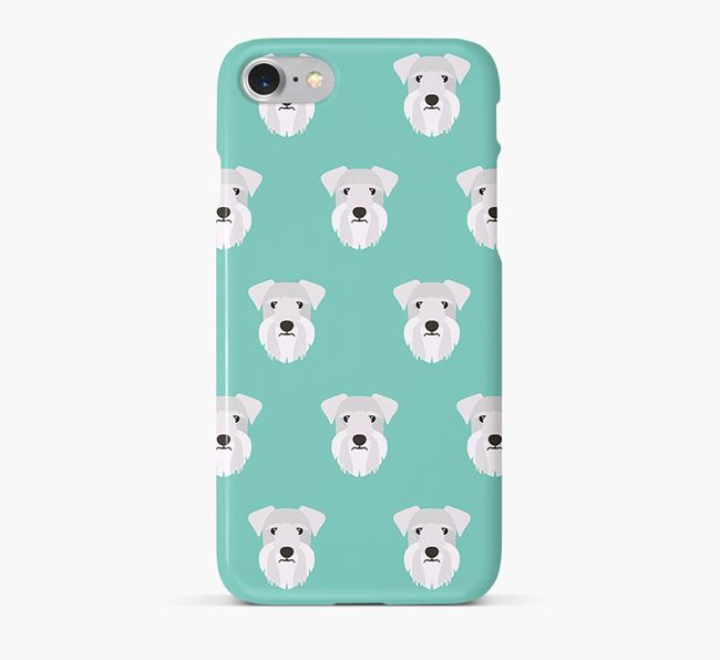 Phone Case with Cesky Terrier Icons
