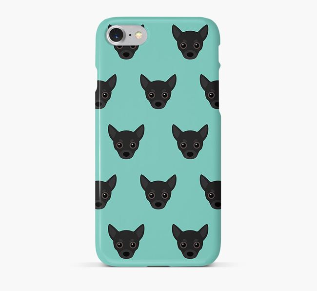 Phone Case with Chihuahua Icons