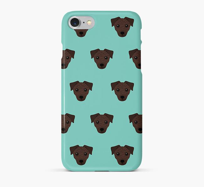Phone Case with Chi Staffy Bull Icons