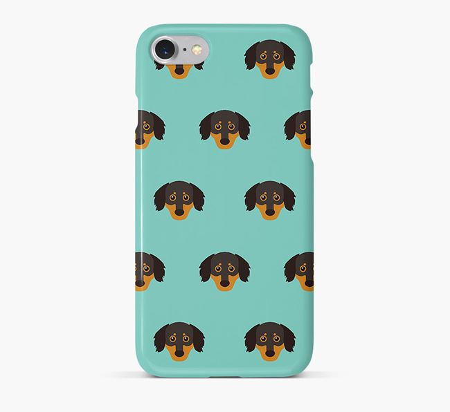 Phone Case with Chiweenie Icons